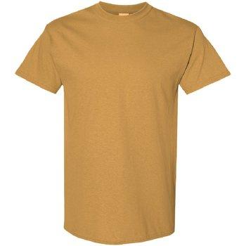 textil Herr T-shirts Gildan 5000 Gammalt guld