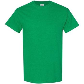 textil Herr T-shirts Gildan 5000 Antik irländsk grön