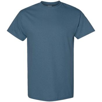 textil Herr T-shirts Gildan 5000 Indigoblå