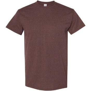 textil Herr T-shirts Gildan 5000 Russet
