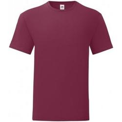 textil Herr T-shirts Fruit Of The Loom 61430 Bourgogne