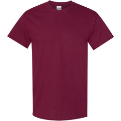 textil Herr T-shirts Gildan 5000 Maroon
