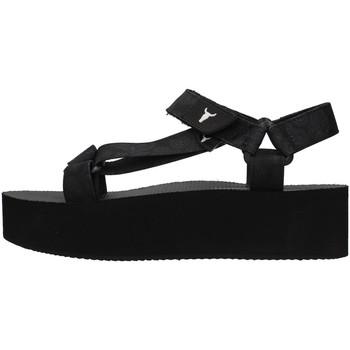 Skor Dam Sandaler Windsor Smith PEEPED BLACK