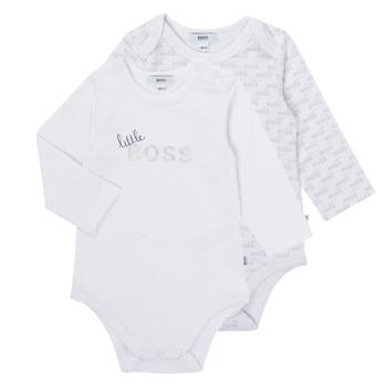 textil Pojkar Pyjamas/nattlinne BOSS SEPTINA Vit
