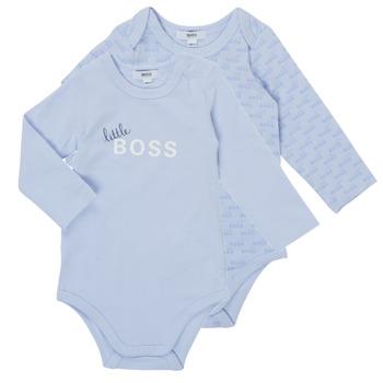 textil Pojkar Pyjamas/nattlinne BOSS SEPTINA Blå