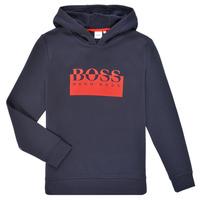 textil Pojkar Sweatshirts BOSS MARKE Marin