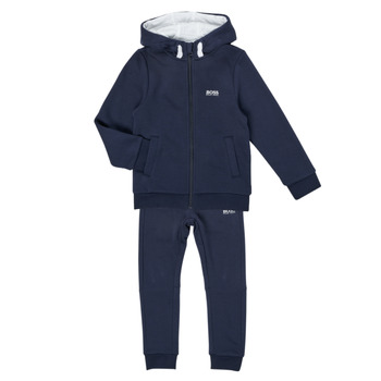 textil Pojkar Sportoverall BOSS COLLETA Marin
