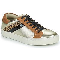 Skor Dam Sneakers Betty London PITINETTE Guldfärgad