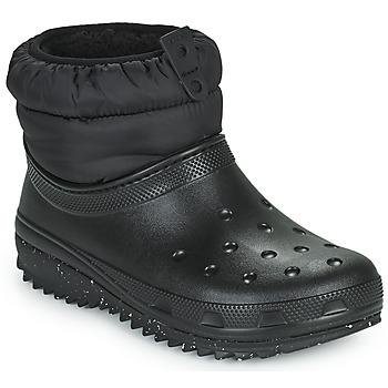 Skor Dam Vinterstövlar Crocs CLASSIC NEO PUFF SHORTY BOOT W Svart