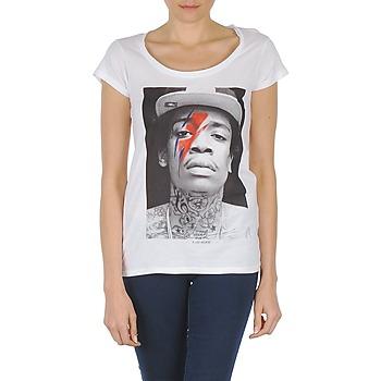 textil Dam T-shirts Eleven Paris KALIFA W Vit