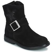 Skor Flickor Boots Citrouille et Compagnie POUDRE Svart