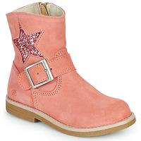 Skor Flickor Boots Citrouille et Compagnie POUDRE Rosa