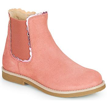 Skor Flickor Boots Citrouille et Compagnie PRAIRIE Rosa