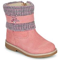 Skor Flickor Boots Citrouille et Compagnie PASTEK Rosa