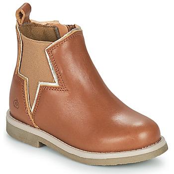 Skor Flickor Boots Citrouille et Compagnie PRATO Kamel
