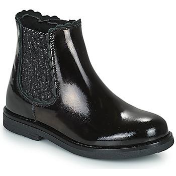 Skor Flickor Boots Citrouille et Compagnie PRAIRIE Svart