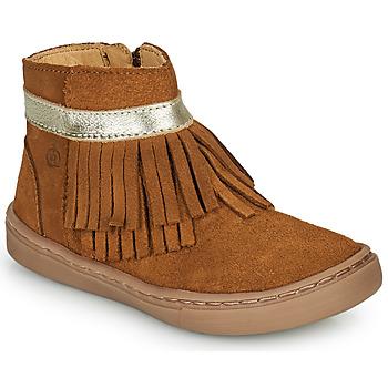 Skor Flickor Boots Citrouille et Compagnie PIDOUTE Kamel