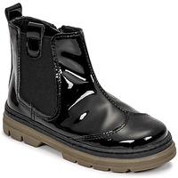 Skor Flickor Boots Citrouille et Compagnie PATATA Svart / Lack