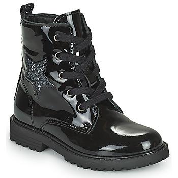 Skor Flickor Boots Citrouille et Compagnie PICOTI Svart