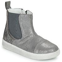 Skor Flickor Boots Citrouille et Compagnie PIMANE Grå