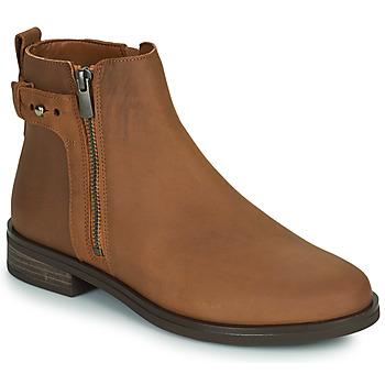Skor Dam Boots Clarks MEMI LO Kamel