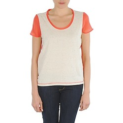textil Dam T-shirts Eleven Paris EDMEE Beige / Orange