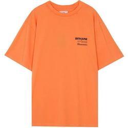 textil Herr T-shirts Sixth June T-shirt  barcode orange