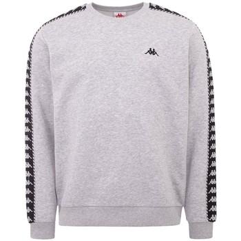 textil Herr Sweatjackets Kappa Ildan Sweatshirt Grise