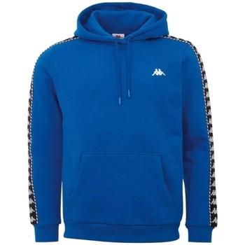 textil Herr Sweatshirts Kappa Igon Sweatshirt Bleu