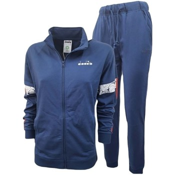 textil Herr Sportoverall Diadora Fz Core Blå