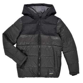 textil Pojkar Täckjackor Jack & Jones JJVENUS HEAVY PUFFER Svart