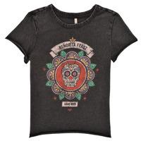 textil Flickor T-shirts Only KONLUCY Svart