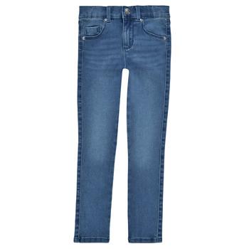 textil Flickor Skinny Jeans Only KONROYAL Blå / Ljus