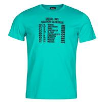 textil Herr T-shirts Diesel T-DIEGOS Blå