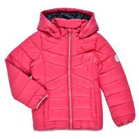 textil Flickor Täckjackor Name it NMFMOBI JACKET Rosa