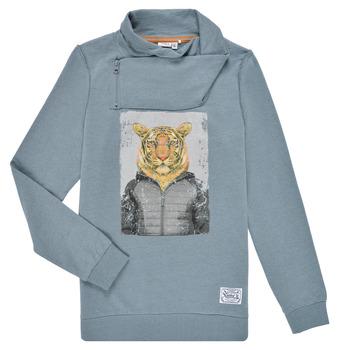 textil Pojkar Sweatshirts Name it NKLKUVAU LS SWE Blå