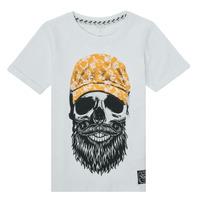 textil Pojkar T-shirts Name it NKMKSOYTAN SS TOP Vit