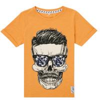 textil Pojkar T-shirts Name it NKMKSOYTAN SS TOP Gul