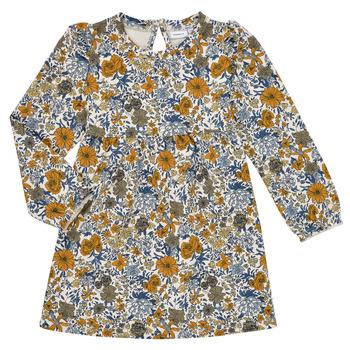 textil Flickor Korta klänningar Name it NMFLALISA SWEAT DRESS Flerfärgad