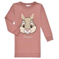 textil Flickor Sweatshirts Name it NMFTHUMPER DAHLIA LS SWE Rosa