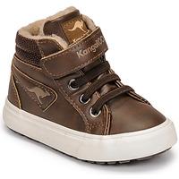 Skor Pojkar Höga sneakers Kangaroos KAVU III Brun