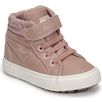 Skor Flickor Höga sneakers Kangaroos KAVU III Rosa