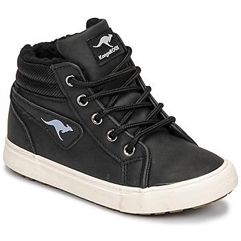 Skor Pojkar Höga sneakers Kangaroos KAVU I Svart