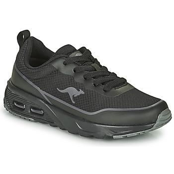 Skor Pojkar Sneakers Kangaroos KX-3500 Svart
