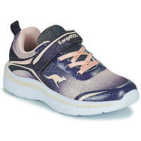 Skor Flickor Sneakers Kangaroos K-MAID GLEAM EV Blå / Silver