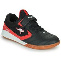 Skor Barn Sneakers Kangaroos K5-COURT EV Svart / Röd
