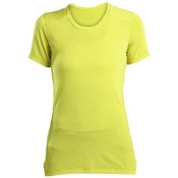 textil Dam T-shirts Saucony SAW800023 Gula