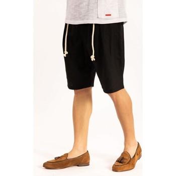 textil Herr Shorts / Bermudas Takeshy Kurosawa  Svart