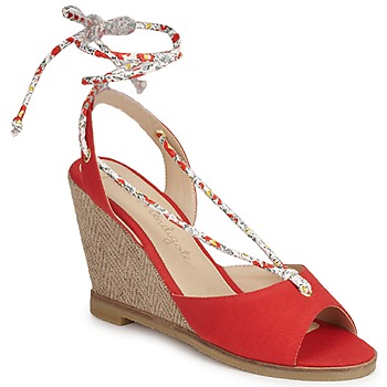 Skor Dam Sandaler Petite Mendigote BLONDIE Röd