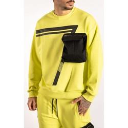 textil Herr Sweatshirts Takeshy Kurosawa  Svart